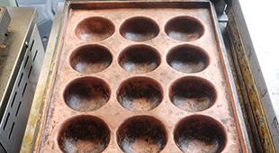 熱伝導が良い銅板のイメージ
